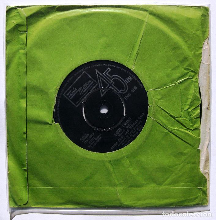 Discos de vinilo: Diana Ross & Marvin Gaye - Stop, Look, Listen (To Your Heart) - Single Tamla Motown 1974 UK BPY - Foto 2 - 199495506