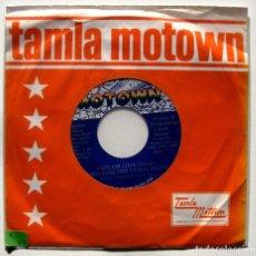 Discos de vinilo: DIANA ROSS & LIONEL RICHIE - ENDLESS LOVE - SINGLE MOTOWN 1981 USA BPY. Lote 199496325