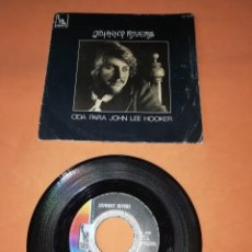 Discos de vinilo: JOHNNY RIVERS. ODA PARA JOHN LEE HOKER. PARTE 1 Y 2 . LIBERTY RECORDS 1969. Lote 199496678