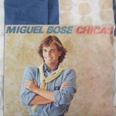 Discos de vinilo: DISCO MIGUEL BOSE CHICAS. Lote 199496768