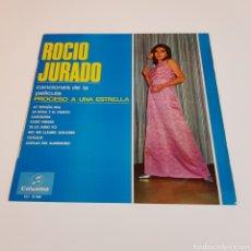 Disques de vinyle: ROCIO JURADO - PROCESO A UNA ESTRELLA. Lote 199499061