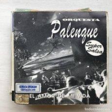 Discos de vinilo: ORQUESTA PALENQUE - EL AMOR DE MI VIDA - SINGLE CLASH 1991 PROMO UNA CARA. Lote 199499161