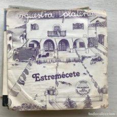 Discos de vinilo: ORQUESTRA PLATERÍA - ESTREMÉCETE - SINGLE ARIOLA 1980 PROMO. Lote 199500007