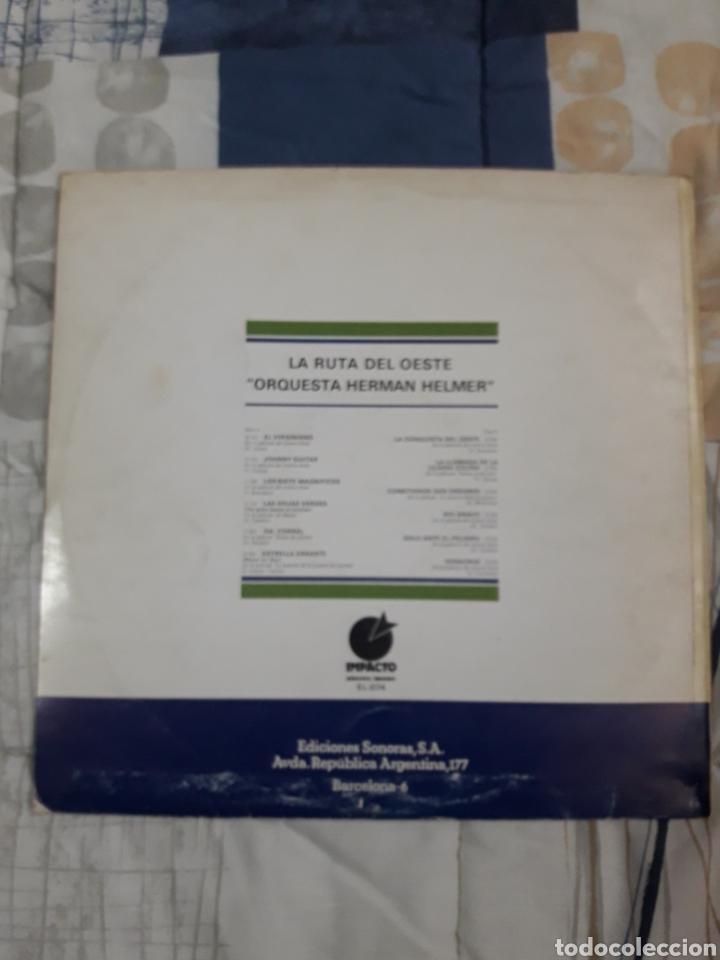 Discos de vinilo: DISCO ORQUESTA HERMAN HELMER, LA RUTA DEL OESTE - Foto 2 - 199501747