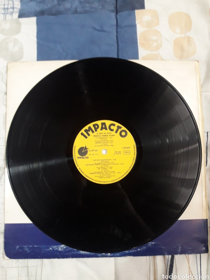 Discos de vinilo: DISCO ORQUESTA HERMAN HELMER, LA RUTA DEL OESTE - Foto 3 - 199501747
