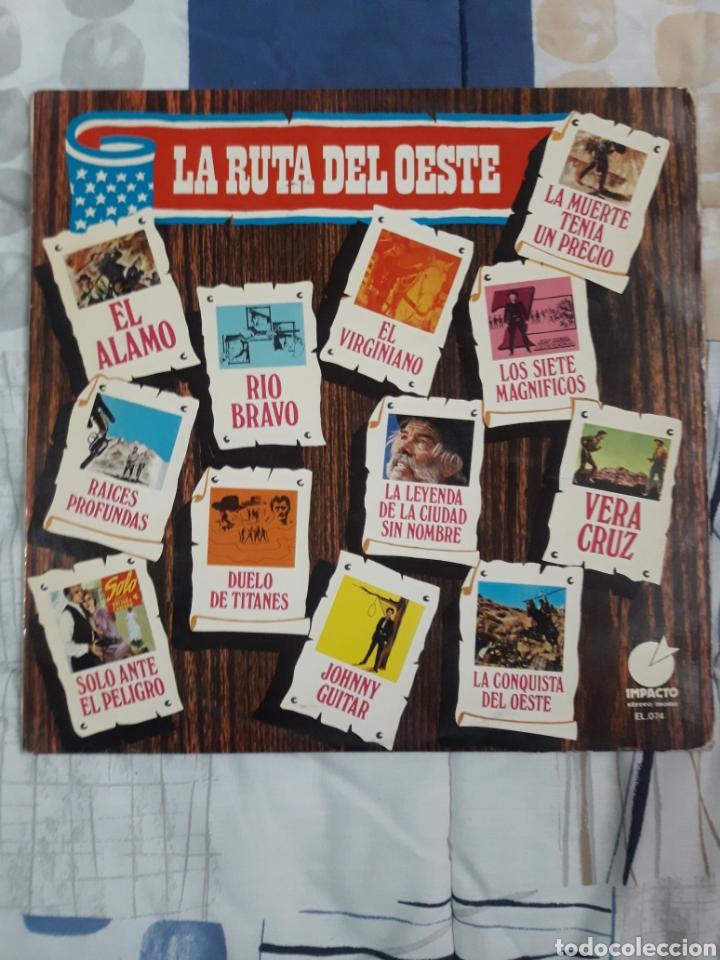 DISCO ORQUESTA HERMAN HELMER, LA RUTA DEL OESTE (Música - Discos - LP Vinilo - Orquestas)