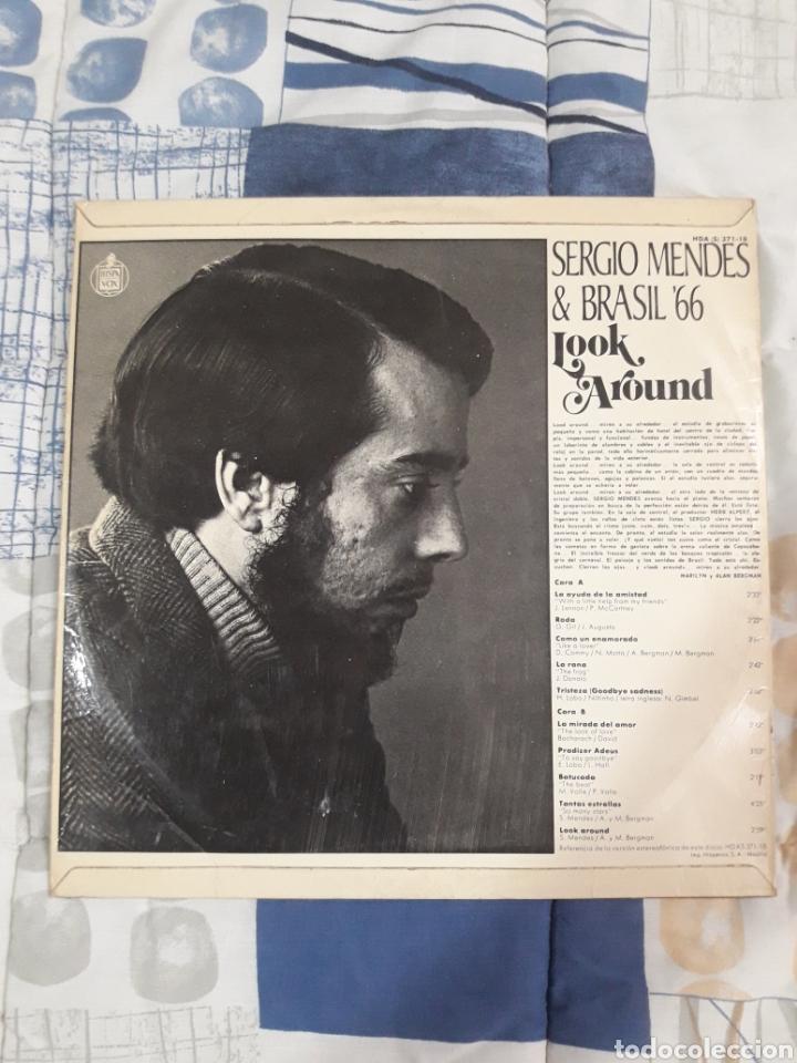 Discos de vinilo: DISCO SERGIO MENDES, BRASIL 66, LOOK AROUND - Foto 2 - 199503995