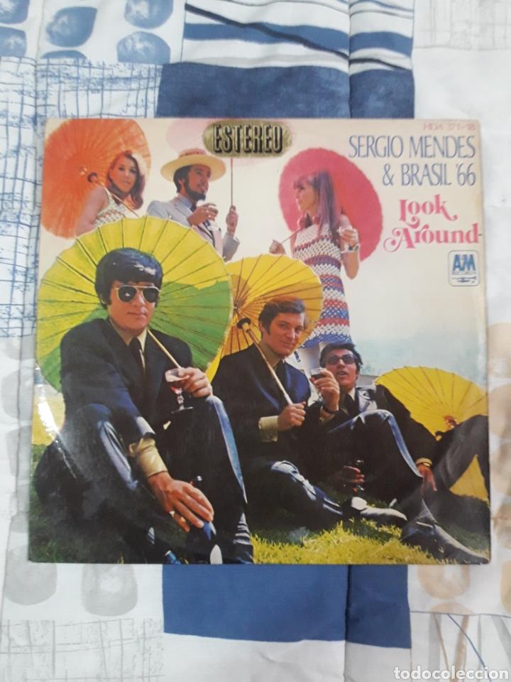DISCO SERGIO MENDES, BRASIL 66, LOOK AROUND (Música - Discos - LP Vinilo - Grupos y Solistas de latinoamérica)