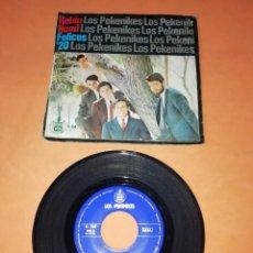 Discos de vinilo: LOS PEKENIKES. ROBIN HOOD. FELICES 20. HISPAVOX 1967. Lote 199504877
