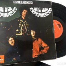 Discos de vinilo: JIMI HENDRIX LP ARE YOU EXPERIENCED 1967 POLYDOR. Lote 199505410