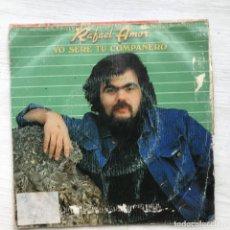 Discos de vinilo: RAFAEL AMOR - YO SERÉ TU COMPAÑERO - SINGLE MOVIEPLAY SPAIN 1983 PROMO. Lote 199506212