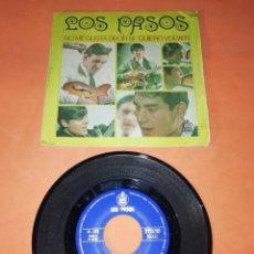 Discos de vinilo: LOS PASOS. NO ME GUSTA DECIR SI. QUIERO VOLVER. HISPAVOX 1967. Lote 199508900