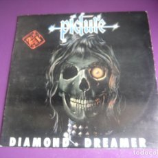 Discos de vinilo: PICTURE DOBLE LP VICTORIA 1984 DIAMOND DREAMER + ETERNAL DARK - HEAVY METAL 80'S - POCO USO. Lote 199511993