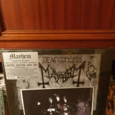 Discos de vinilo: MAYHEM / CURSED IN ETERNITY / PEACEVILLE 2018. Lote 199514278
