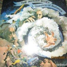 Discos de vinilo: THE MOODY BLUES - A QUESTION OF BALANCE LP - ORIGINAL U.S.A. - THRESHOLD 1970 GATEFOLS Y ENCARTE.. Lote 199518757