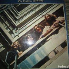 Discos de vinilo: THE BEATLES / 1967-1970 DOBLE LP - ORIGINAL ESPAÑOL - APPLE RECORDS 1973 GATEFOLD COVER -. Lote 199523885