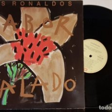 Disques de vinyle: LOS RONALDOS - SABOR SALADO - EMI 1990 - CARPETA ABIERTA. Lote 199525840