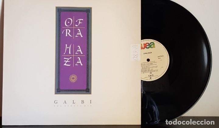 OFRA HAZA - GALBI THE SEHOOG MIX - WEA 1988 (Música - Discos de Vinilo - Maxi Singles - Étnicas y Músicas del Mundo)