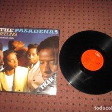 Discos de vinilo: THE PASADENAS - REELING - MAXI - SPAIN - CBS - PLS 402 - L - . Lote 199527340