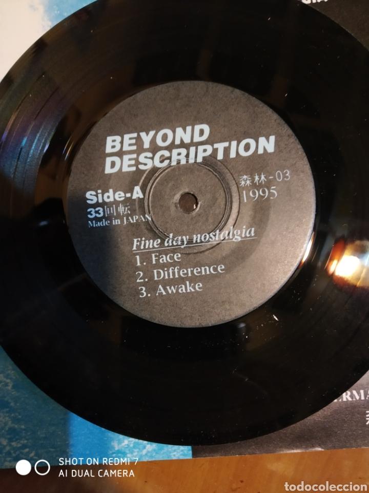 Discos de vinilo: Beyond Descrption. Fine day nostalgia. EP 5 temas.Edicion japonesa - Foto 5 - 199532140