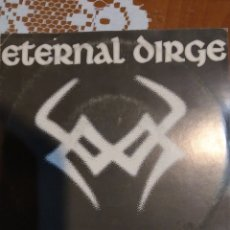 Discos de vinilo: ETERNAL DIRGE. MY SWEET SATÁN. HYMN II PAN. Lote 199552775