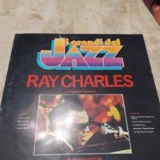 Discos de vinilo: LP RAY CHARLES 1979 CON CUADERNILLO. Lote 199554470