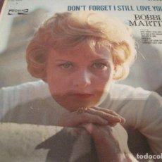 Discos de vinilo: LP BOBBI MARTIN DON´T FORGET I STILL LOVE YOU CORAL 757472 USA 1964. Lote 199577247
