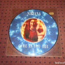 Discos de vinilo: NIRVANA - COME AS YOU ARE - MAXI - PICTURE DISC - GERMANY - GEFFEN RECORDS - GET 21 714 - L - . Lote 199581431