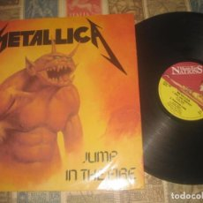 Discos de vinilo: METALLICA. MAXI SINGLE. JUMP IN THE FIRE.(MUSIC FOR NATIONS 1983) OG ENGLAND. Lote 199619827