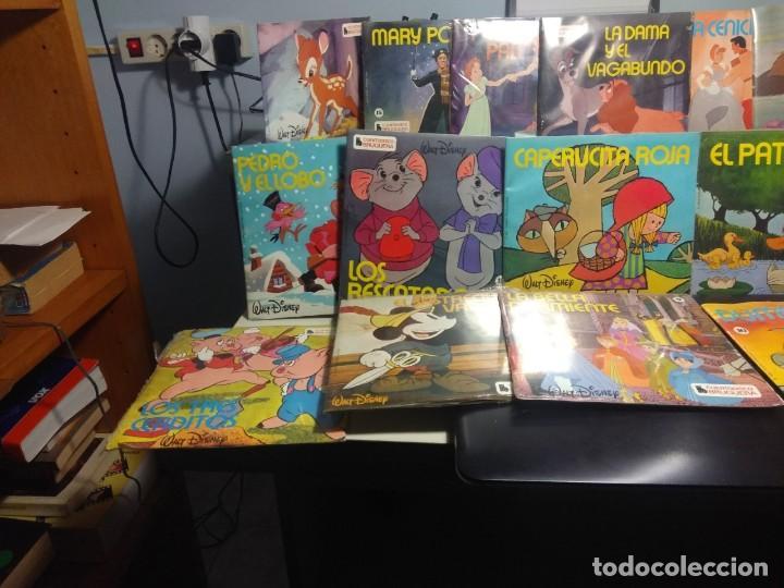 LOTE WALT DISNEY CUENTODISCO BRUGUERA ( COLECCION COMPLETA, 20 EJEMPLARES PRECINTADOS ) (Música - Discos de Vinilo - EPs - Música Infantil)
