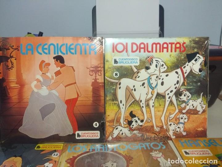 Discos de vinilo: LOTE WALT DISNEY CUENTODISCO BRUGUERA ( COLECCION COMPLETA, 20 EJEMPLARES PRECINTADOS ) - Foto 4 - 199624086
