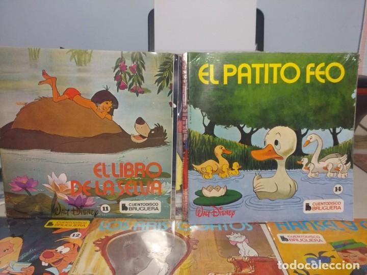 Discos de vinilo: LOTE WALT DISNEY CUENTODISCO BRUGUERA ( COLECCION COMPLETA, 20 EJEMPLARES PRECINTADOS ) - Foto 9 - 199624086