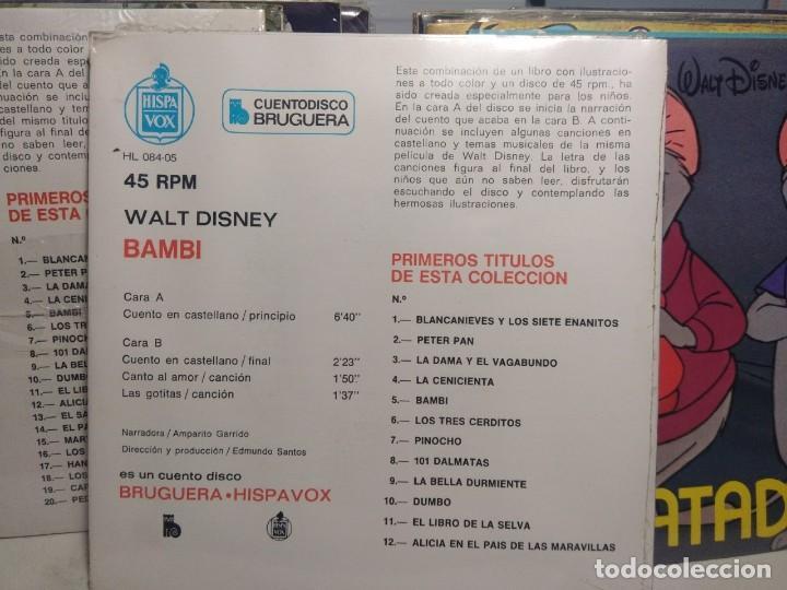 Discos de vinilo: LOTE WALT DISNEY CUENTODISCO BRUGUERA ( COLECCION COMPLETA, 20 EJEMPLARES PRECINTADOS ) - Foto 15 - 199624086