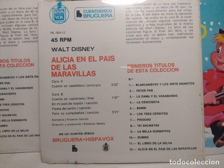 Discos de vinilo: LOTE WALT DISNEY CUENTODISCO BRUGUERA ( COLECCION COMPLETA, 20 EJEMPLARES PRECINTADOS ) - Foto 16 - 199624086