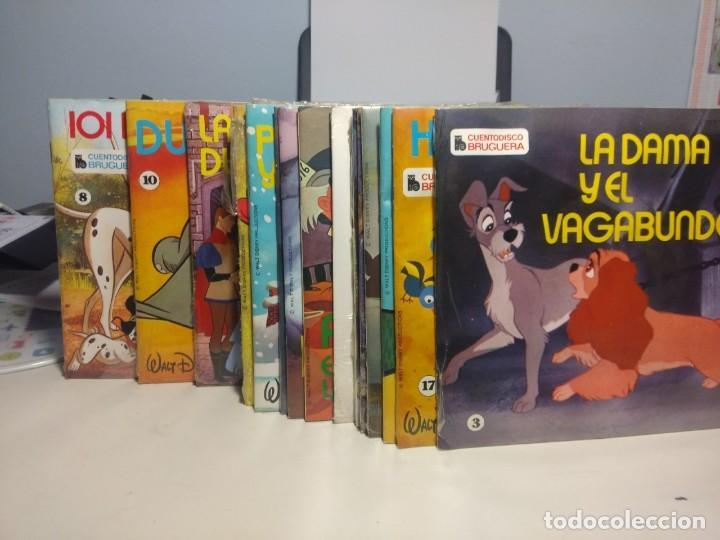 Discos de vinilo: LOTE WALT DISNEY CUENTODISCO BRUGUERA ( COLECCION COMPLETA, 20 EJEMPLARES PRECINTADOS ) - Foto 17 - 199624086