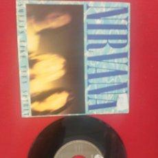 Discos de vinilo: NIRVANA SMELLS LIKE TEEN SPIRIT SINGLES. Lote 199635531