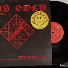 Discos de vinilo: DAS OMEN 1 THE MYSTERIOUS ART - CBS 1989 ACID HOUSE FEVER. Lote 199635606