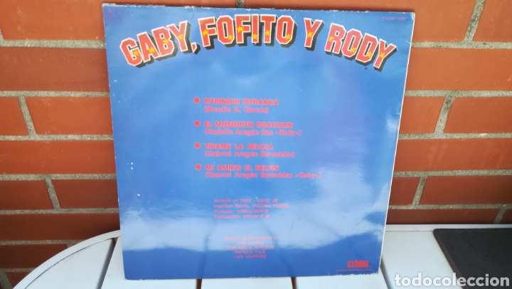Discos de vinilo: Vinilo Gaby, Fofo y Rody. 45 rpm. - Foto 2 - 199637073