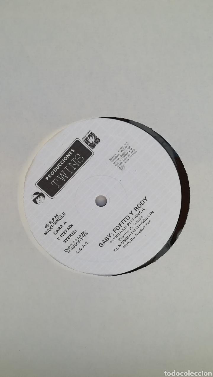 Discos de vinilo: Vinilo Gaby, Fofo y Rody. 45 rpm. - Foto 4 - 199637073