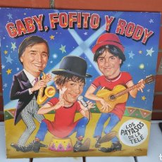 Discos de vinilo: VINILO GABY, FOFO Y RODY. 45 RPM.. Lote 199637073
