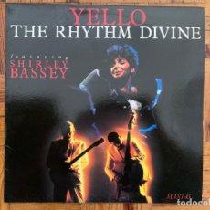 Discos de vinilo: YELLO FEATURING SHIRLEY BASSEY – THE RHYTHM DIVINE LABEL: BARCLAY – 888 746-1 FORMAT: VINYL, 12. Lote 199638331
