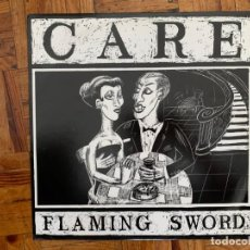 Discos de vinilo: CARE – FLAMING SWORD LABEL: ARISTA – KBIRD 122 FORMAT: VINYL, 12 , 45 RPM, SINGLE COUNTRY: UK . Lote 199638836