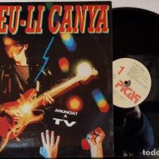 Discos de vinilo: FOTEU-LI CANYA POP ROCK CATALÀ - PICAP 1991. Lote 199639857