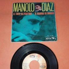 Discos de vinilo: MANOLO DIAZ, EL TREN HA PARTIDO. SONOPLAY RECORDS 1968. Lote 199641727