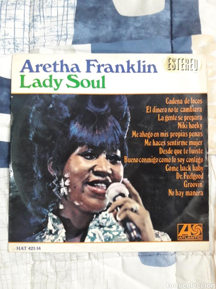 DISCO ARETHA FRANKLIN, LADY SAUL (Música - Discos - LP Vinilo - Funk, Soul y Black Music)
