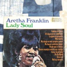 Discos de vinilo: DISCO ARETHA FRANKLIN, LADY SAUL. Lote 199642127