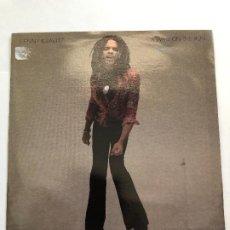 Discos de vinilo: SINGLE LENNY KRAVITZ / ALWAYS ON THE RUN / ALWAYS ON THE RUN . Lote 199643355