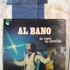 Discos de vinilo: DISCO ALBANO, SU CARA ME SUENA. Lote 199645303