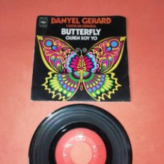 Discos de vinilo: DANYEL GERARD. CANTA EN ESPAÑOL. BUTTERFLY. CBS RECORDS 1971 . Lote 199649000