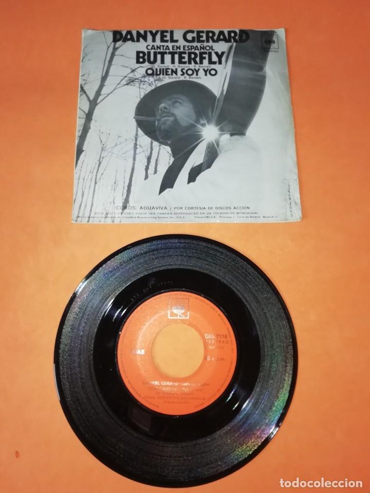Discos de vinilo: DANYEL GERARD. CANTA EN ESPAÑOL. BUTTERFLY. CBS RECORDS 1971 - Foto 2 - 199649000